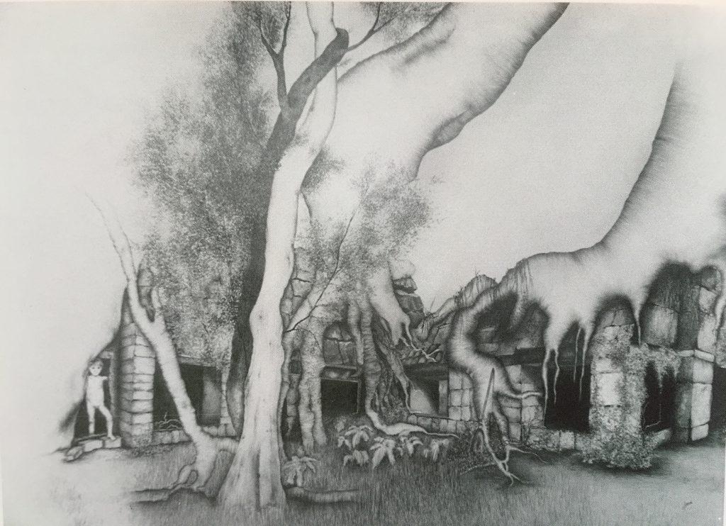 Angkor - Mine de plomb 1983
