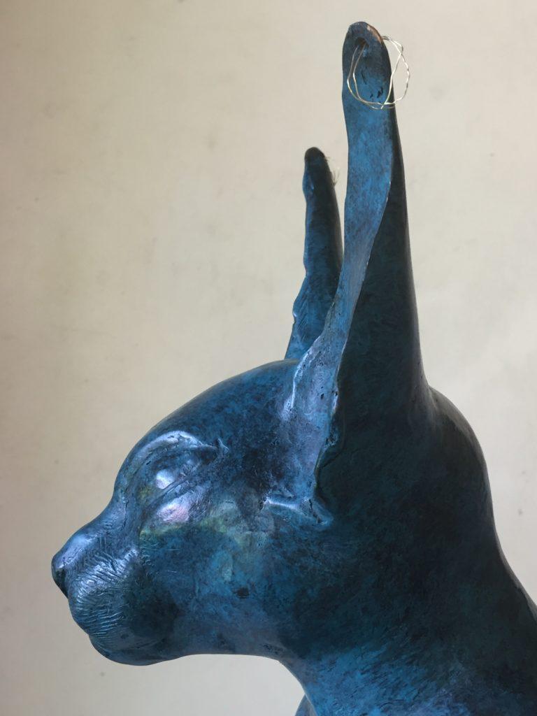Bastet - Bronze bleu lazuli 2019